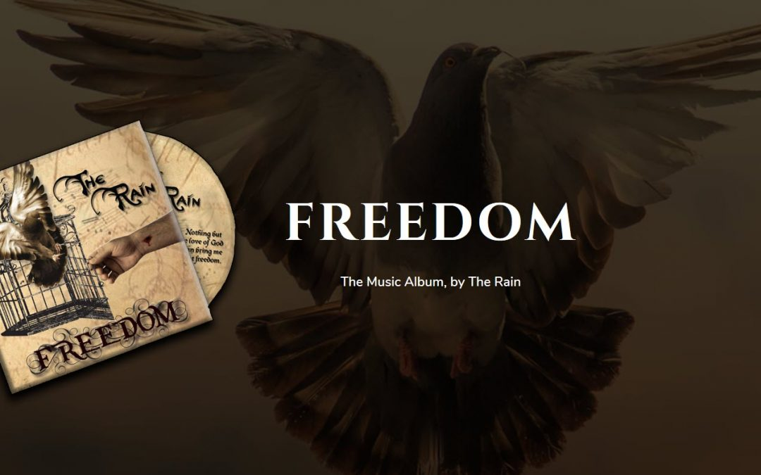 Freedom – inspiring, epic, original Music CD – by The Rain